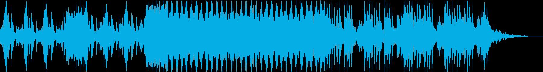 可愛らしいメルヘンなBGMの再生済みの波形