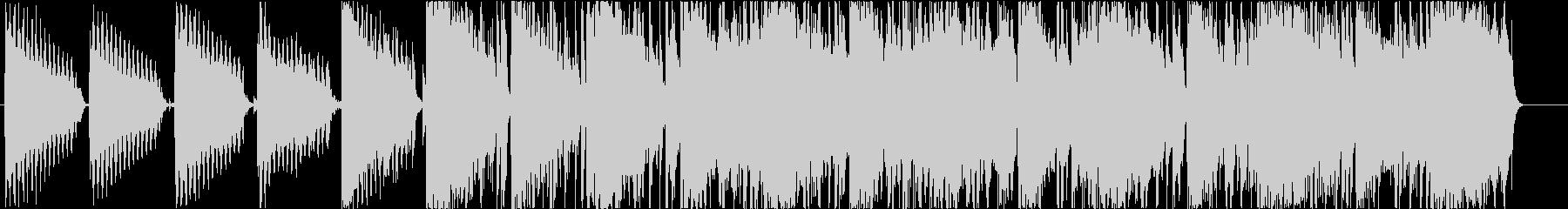印象のヒップホップBGM#02の未再生の波形