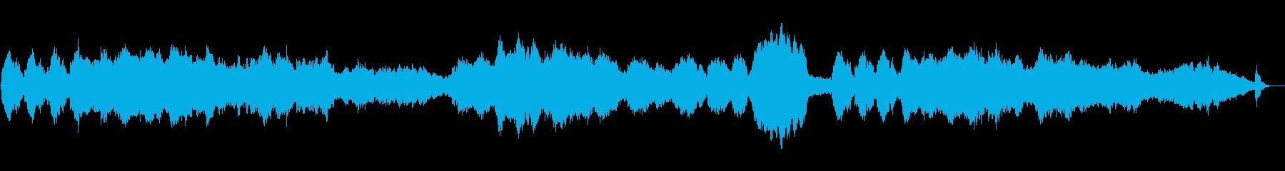 もの悲しいストリングスの再生済みの波形