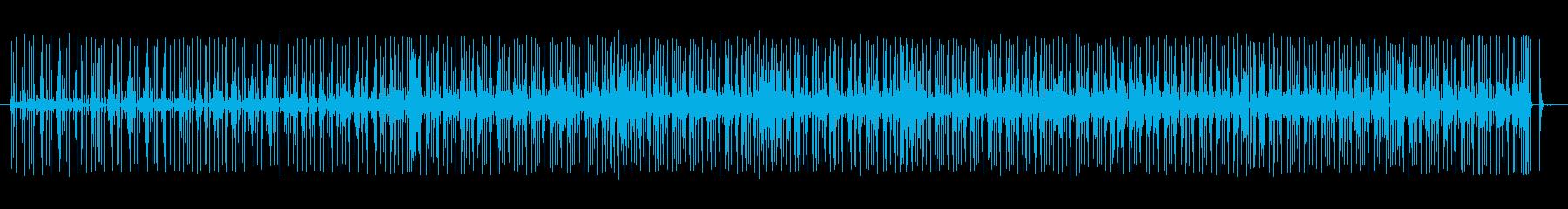 グルーブ16ビートpurdie風ドラム4の再生済みの波形