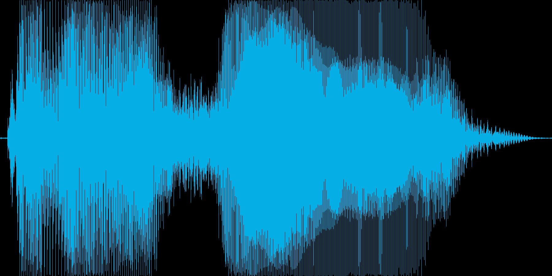 タイフーン!の再生済みの波形