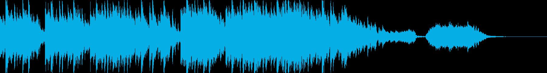 穏やかな和風情緒を感じる和曲-短縮版-の再生済みの波形