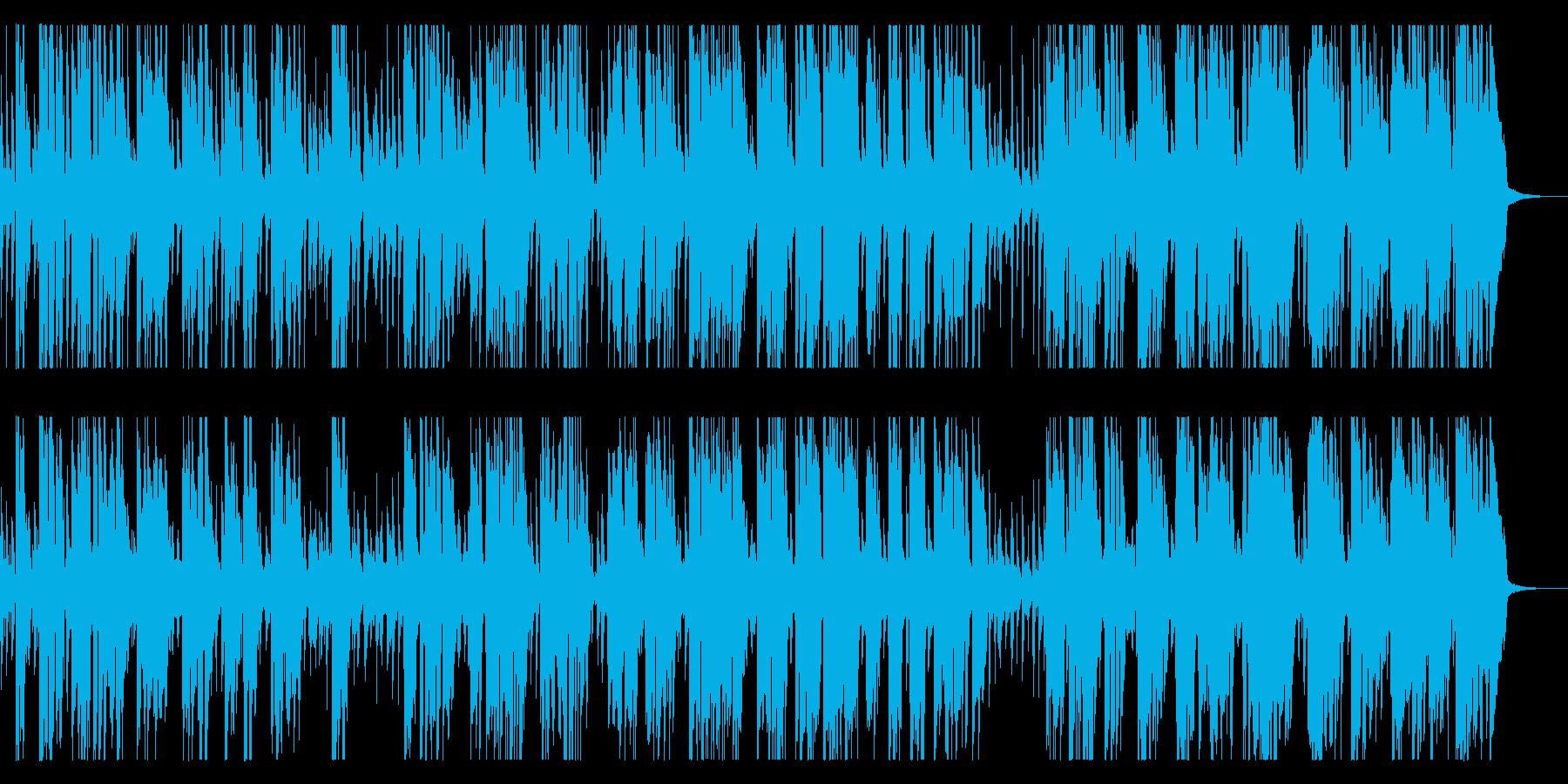 陽気なトランペットとピアノオールドジャズの再生済みの波形