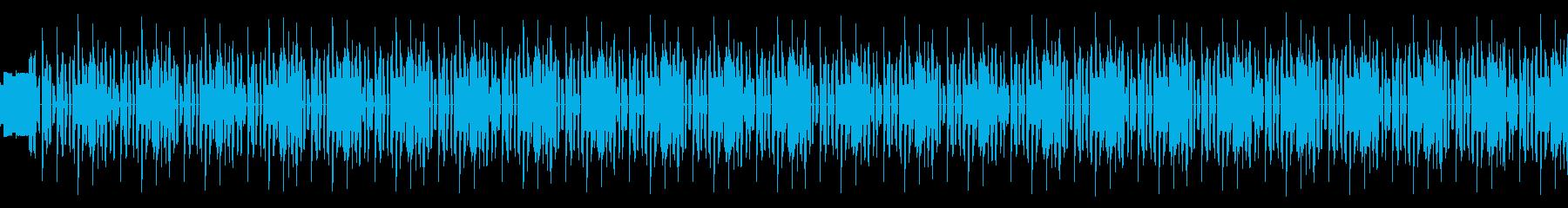 和風でノリ良いファミコンサウンドの再生済みの波形