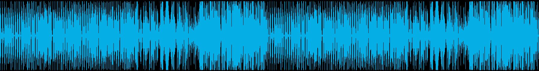 めまぐるしい&かわいいエナジーPOPの再生済みの波形