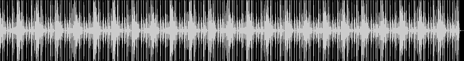 EDMなBGM004跳ねたリズムの未再生の波形