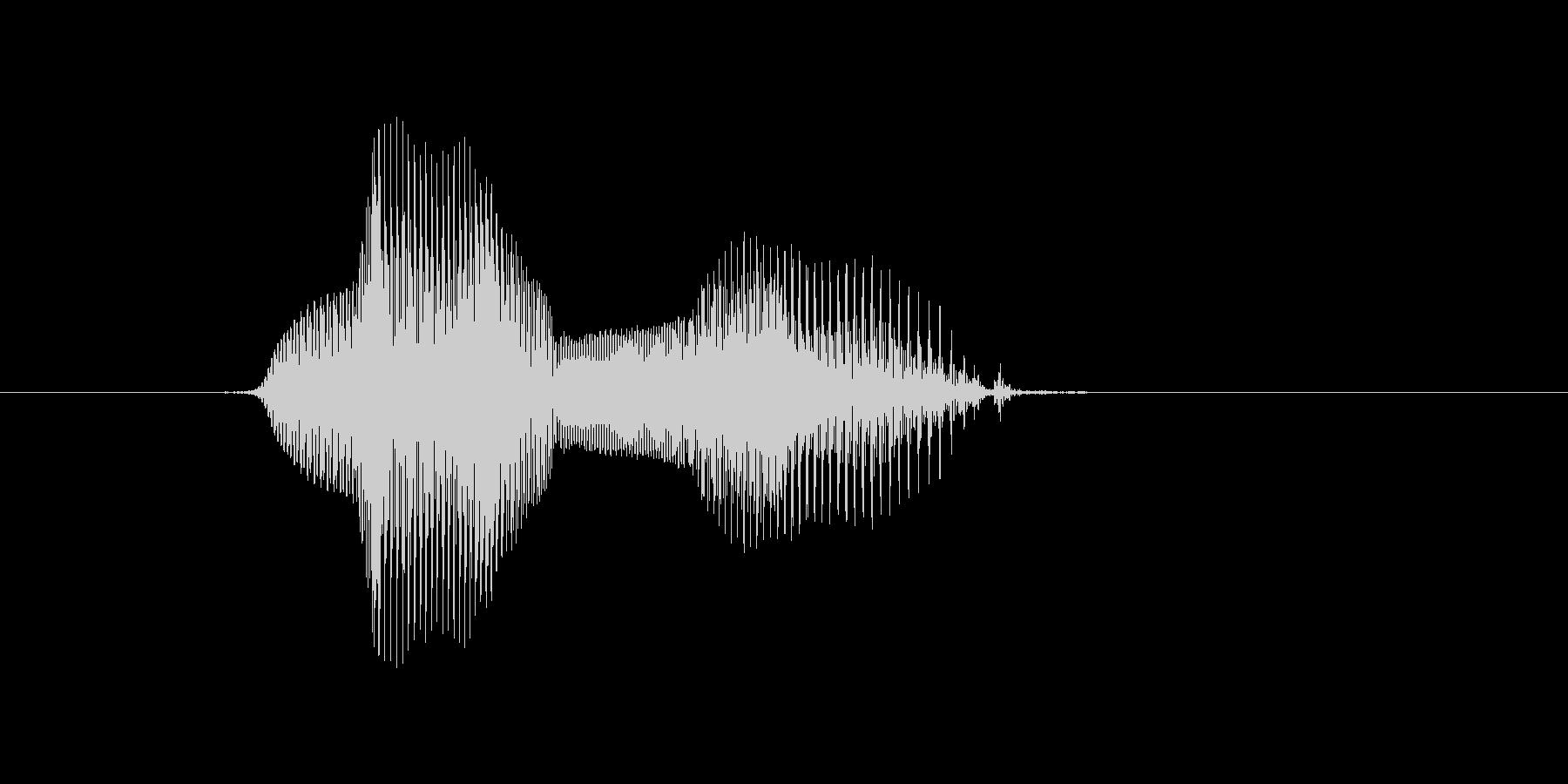 7(なな)の未再生の波形