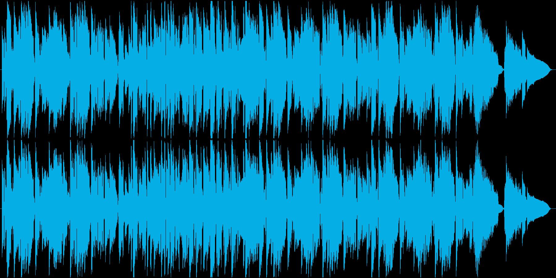 朝の木漏れ日のようなギターインストの再生済みの波形