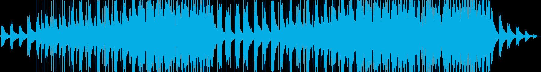 ピアノがループするLo-Fi Beatsの再生済みの波形