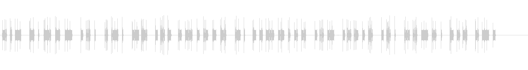 電信-モールス信号-1khzトーン...の未再生の波形