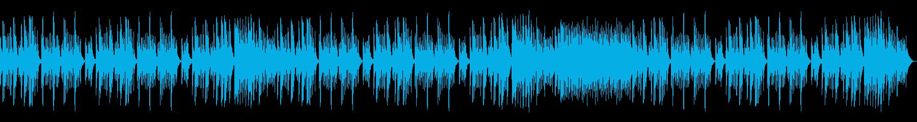少しダークで冷たい響きのマリンバの再生済みの波形