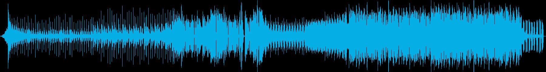 攻撃的でかっこいいダブステップ EDMの再生済みの波形