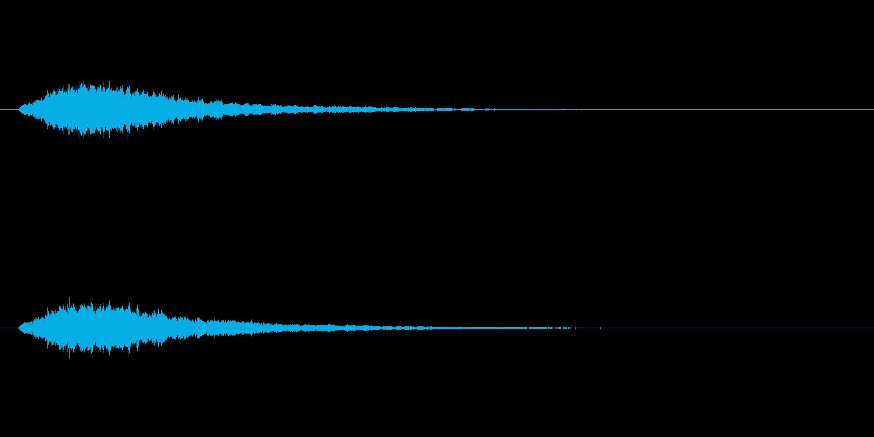 【ショートブリッジ28-1】の再生済みの波形