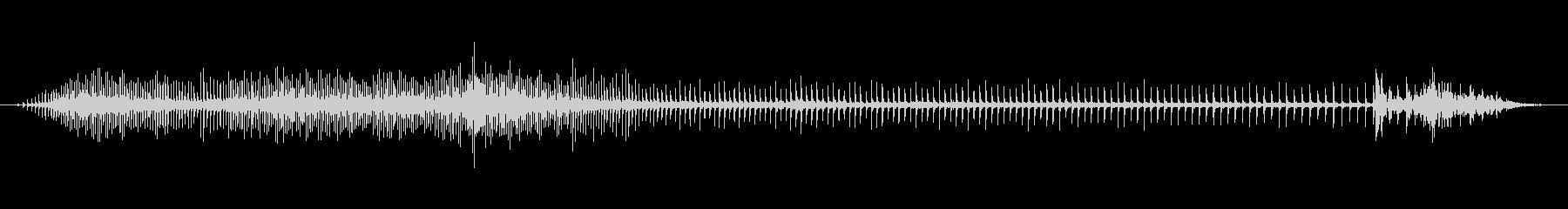 自転車 糸車03の未再生の波形