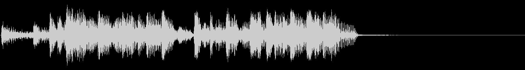クールな代替ロックテーマの未再生の波形