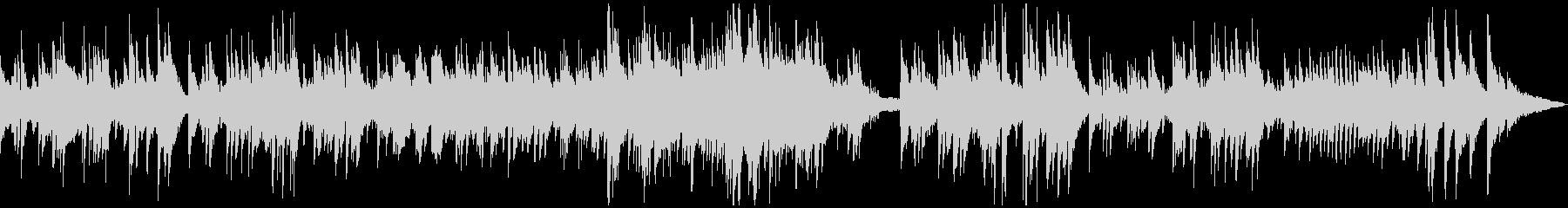 ゆったり温かなアコースティックサウンドの未再生の波形