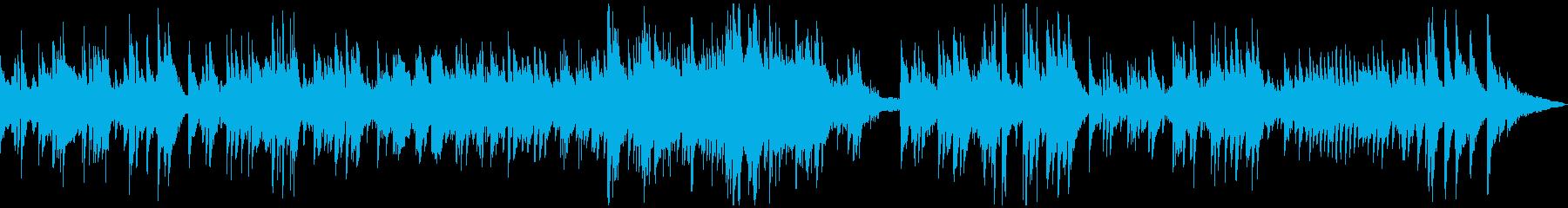 ゆったり温かなアコースティックサウンドの再生済みの波形
