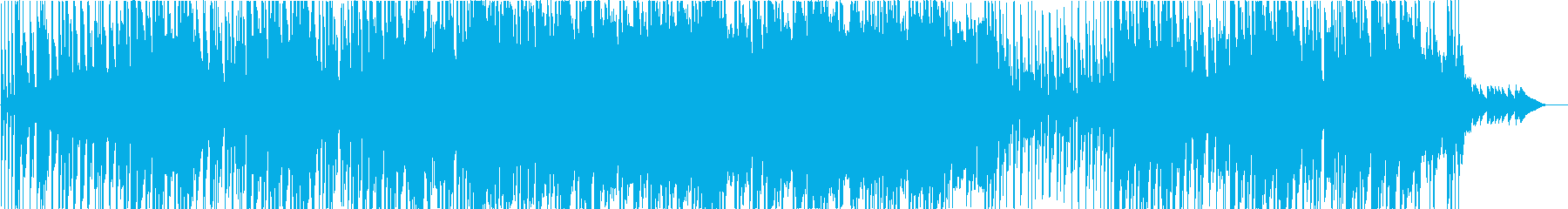さわやかで少し切ないピアノ旋律ポップスの再生済みの波形