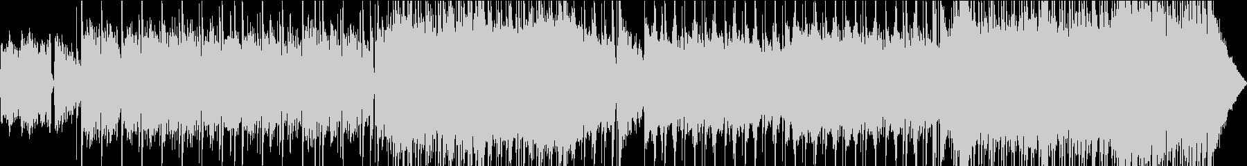 不安なトレモロ効果のギターフィギュ...の未再生の波形