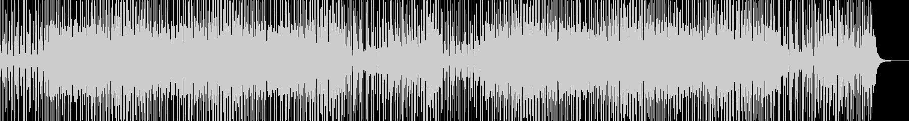 ノリのいいスラップベース ファンクの未再生の波形