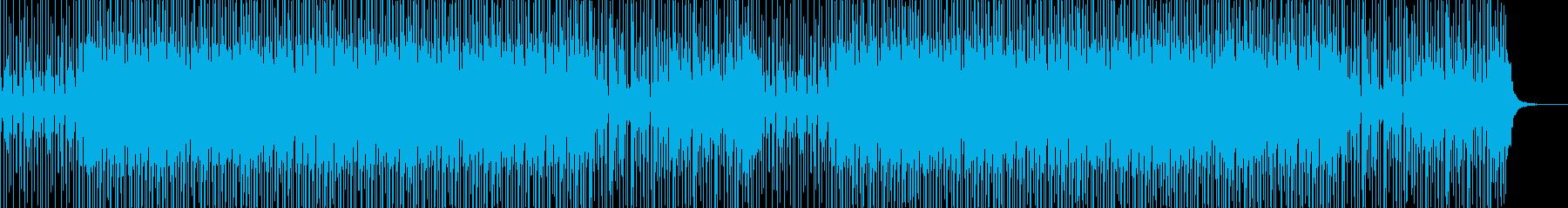 ノリのいいスラップベース ファンクの再生済みの波形