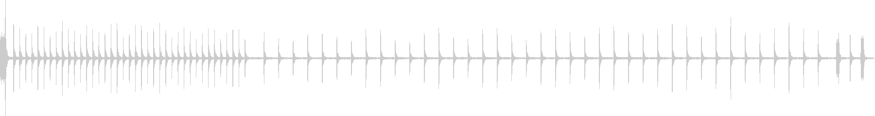 デジタルハムパターの未再生の波形