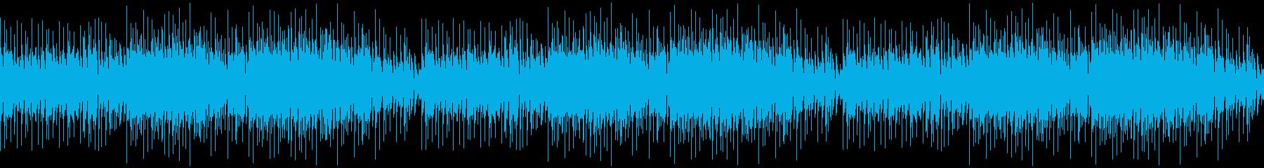 ゆるく、ほのぼのとしたフォークトロニカの再生済みの波形