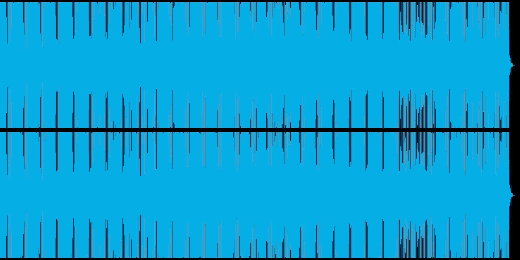 美しいディープミニマルダブハウスの再生済みの波形