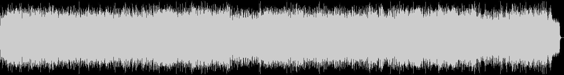 テンポの速いシンセリードの緊迫したメタルの未再生の波形