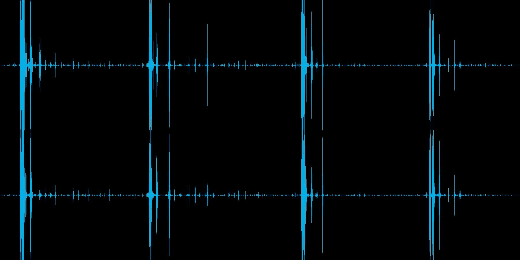 サクサクチキン食べる音サクサクカリカリの再生済みの波形