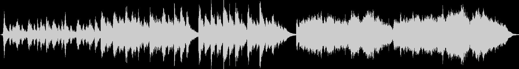 ピアノとコーラスの先導者によるオー...の未再生の波形