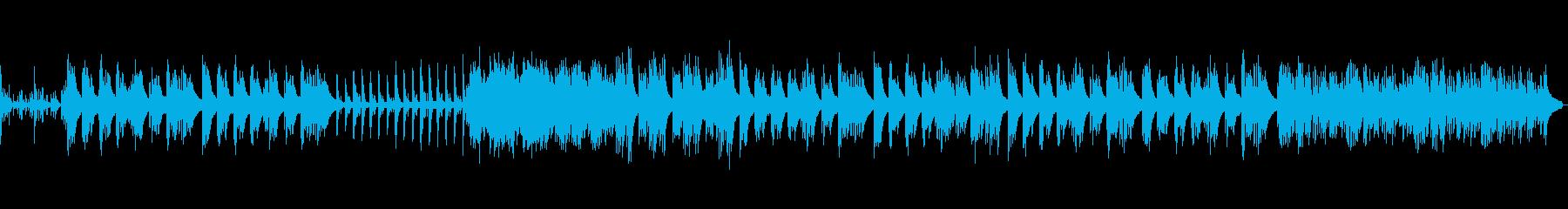 感傷に浸る儚く切ないピアノBGMの再生済みの波形