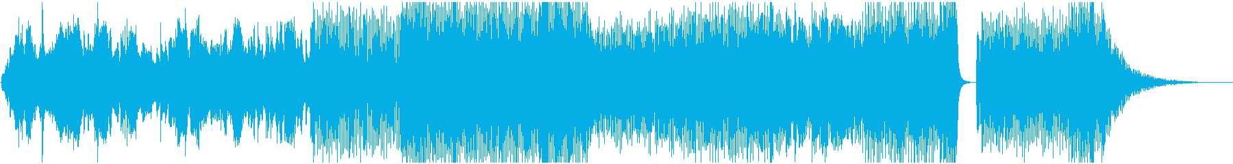 尺八使った和楽器ダンスミュージックの再生済みの波形