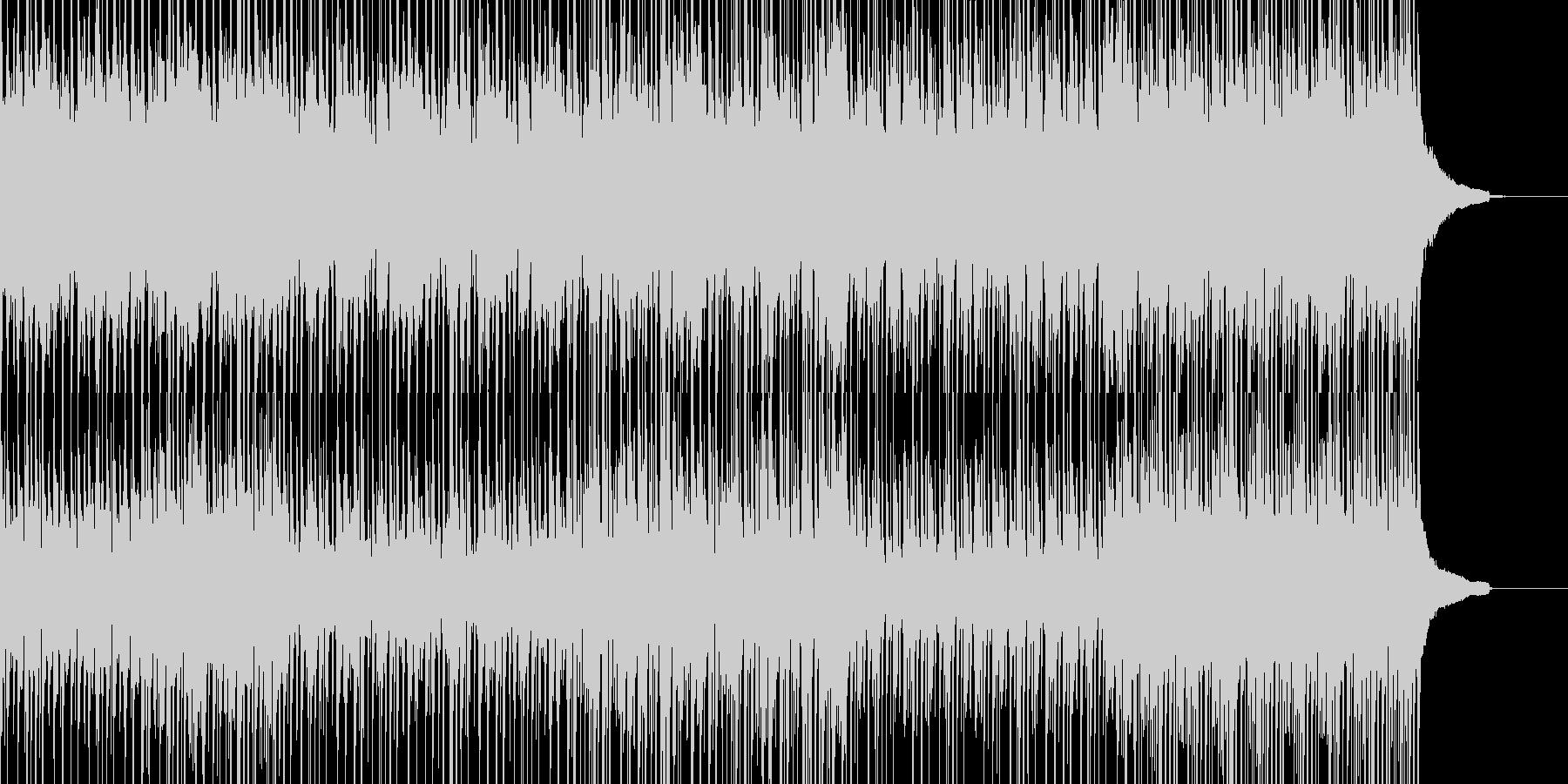 常識にとらわれない和物ビートの未再生の波形