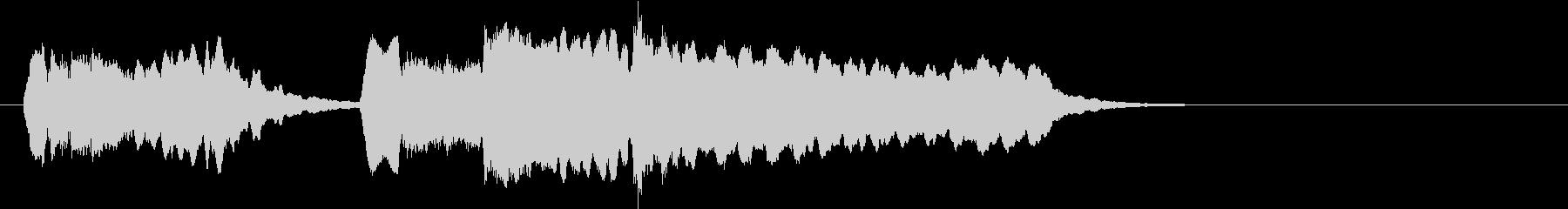 バイオリンによるトッカータとフーガ 2の未再生の波形