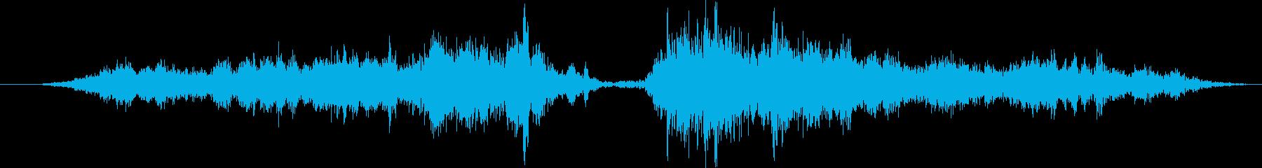 子供用メタルワゴン:左にアプローチ...の再生済みの波形