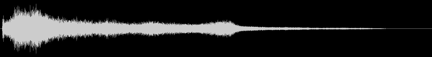 ホラー映画に出てきそうなノイズ系音源03の未再生の波形