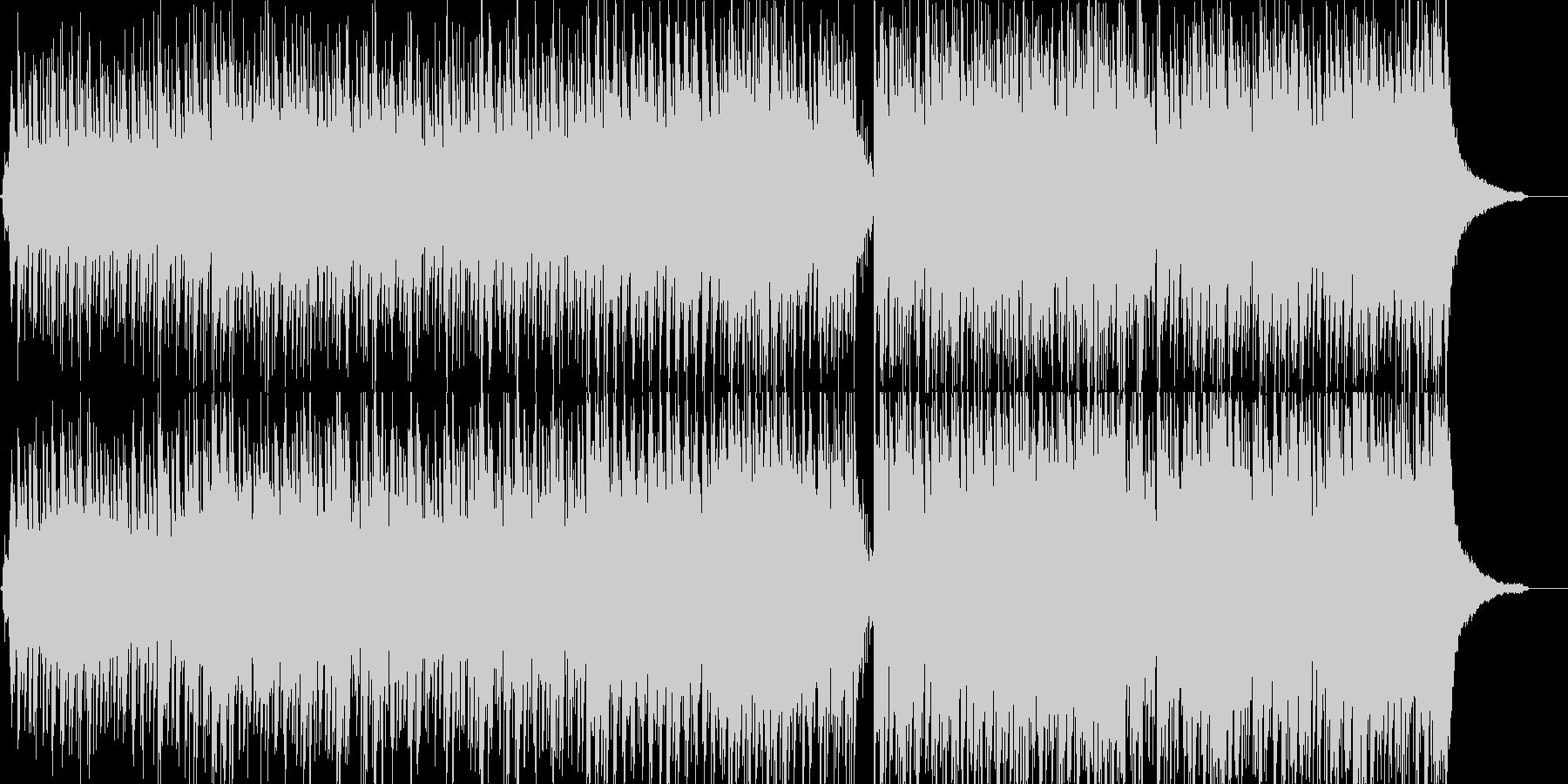 アコギとピアノのポップスの未再生の波形