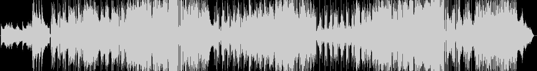 ギターとサックスの三拍子バラードの未再生の波形