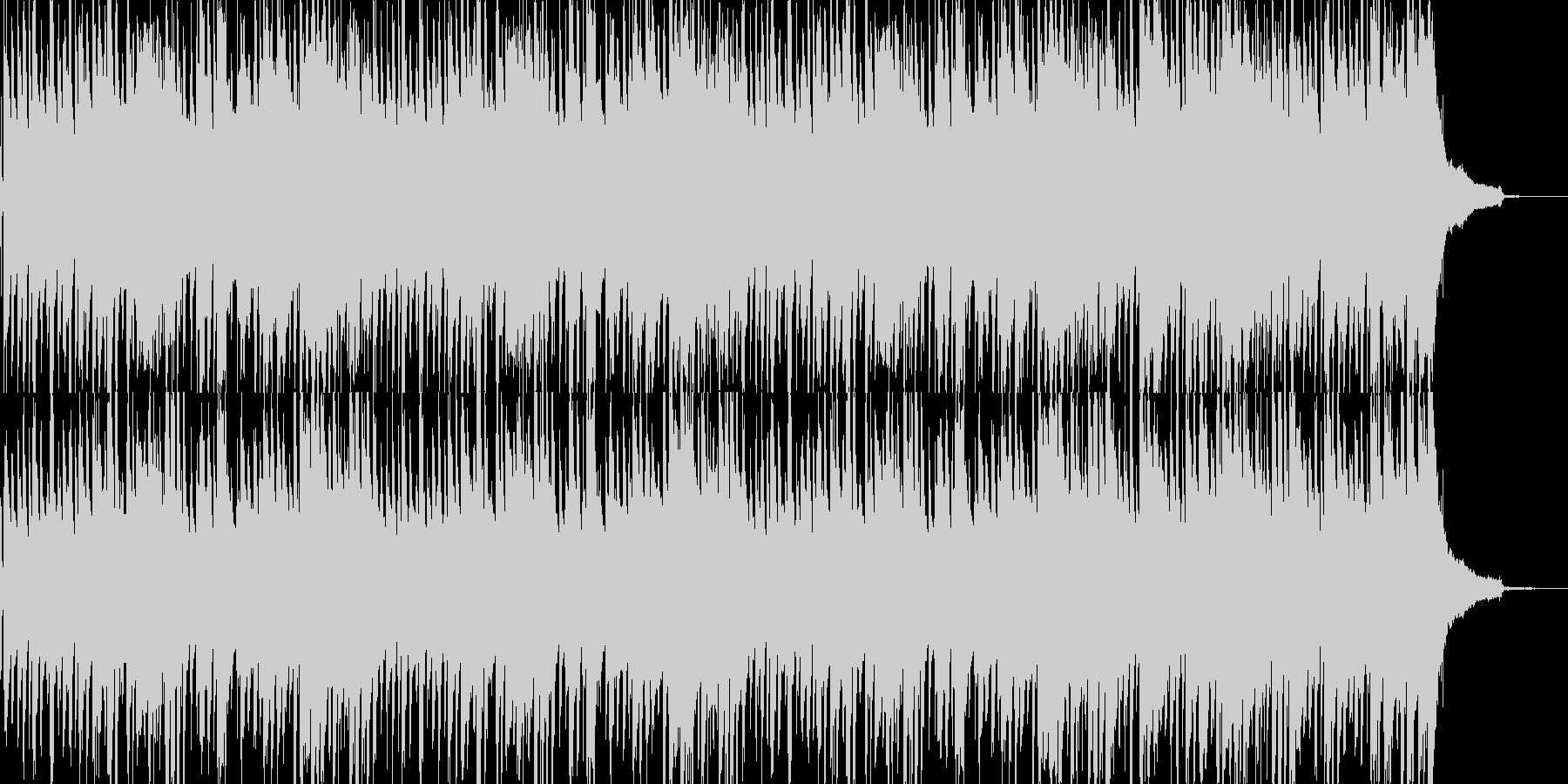 シンプルなピアノトリオ・ジャズのBGMの未再生の波形