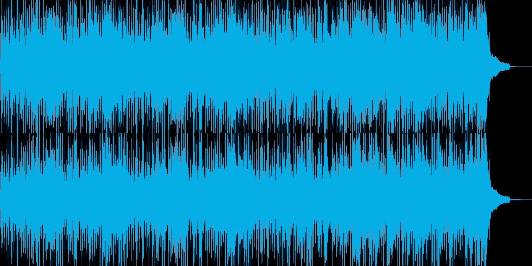 シンプルなピアノトリオ・ジャズのBGMの再生済みの波形
