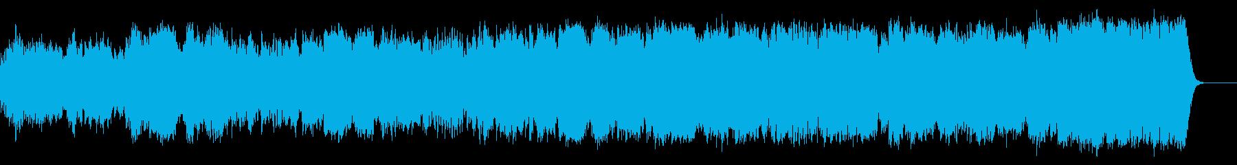 和風な幻想曲、オカリナで喜太郎風にしたの再生済みの波形