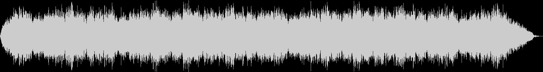 自然音と 癒されるスピリチュアルBGMの未再生の波形