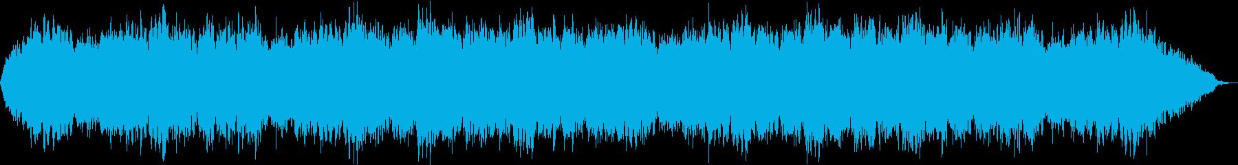 自然音と 癒されるスピリチュアルBGMの再生済みの波形