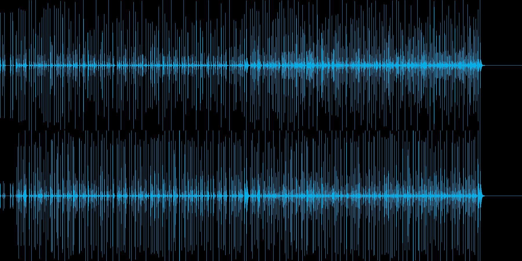 手拍子: 爽快なポリリズムの再生済みの波形