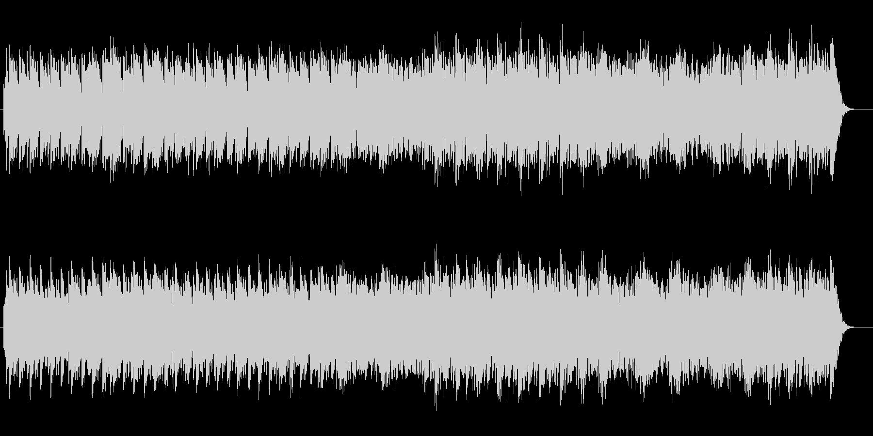 シンプルで神秘的なスピリチュアルサウンドの未再生の波形