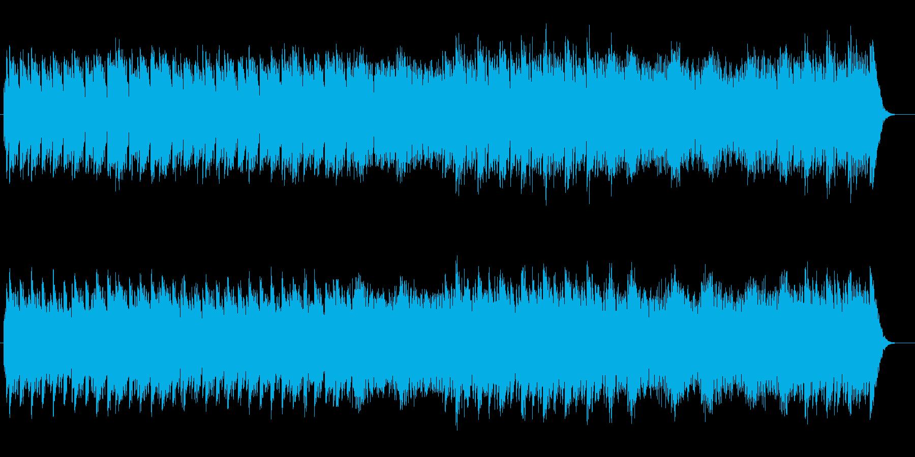 シンプルで神秘的なスピリチュアルサウンドの再生済みの波形