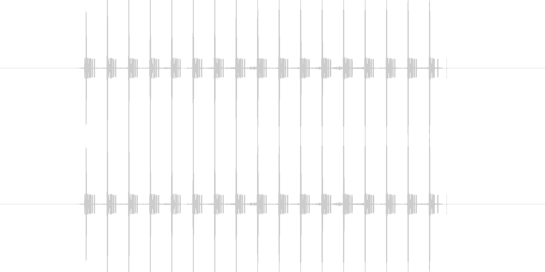 間違い時の機械音/短めの未再生の波形