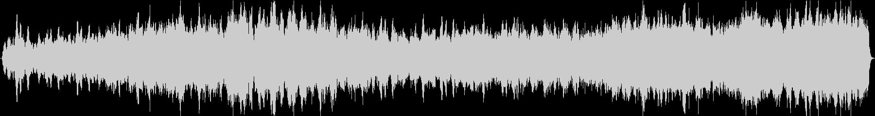 パフェルベルのカノン 弦楽オーケストラの未再生の波形