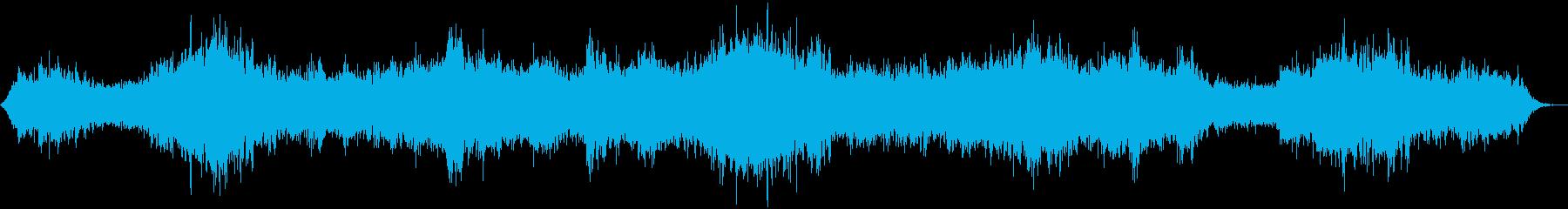 ホラーシーン01の再生済みの波形